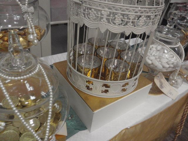 Gold theme lolly Buffet