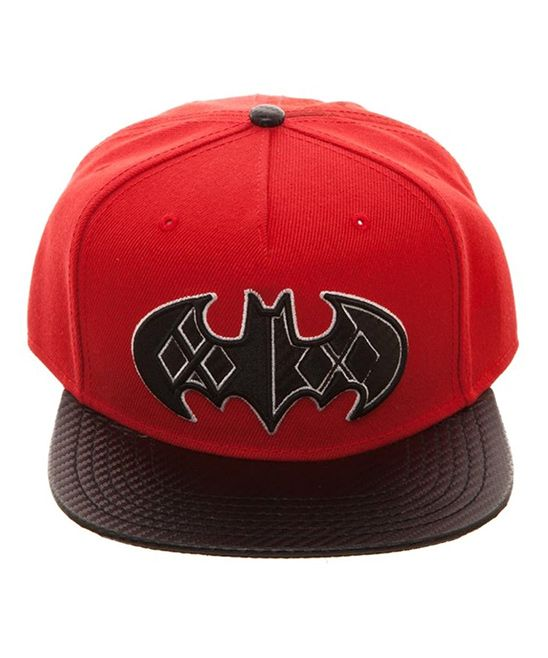 Red Batman & Harley Quinn Baseball Cap