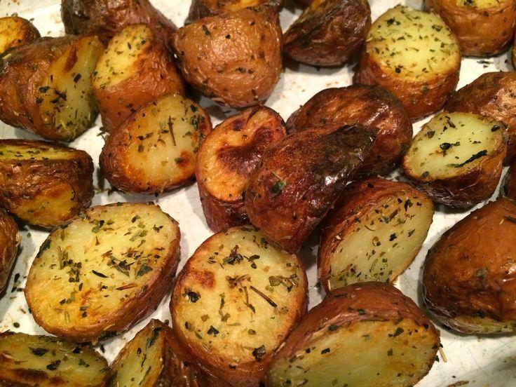 Roseval aardappeltjes uit de oven