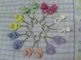Resultado de imagen para souvenirs nacimiento crochet