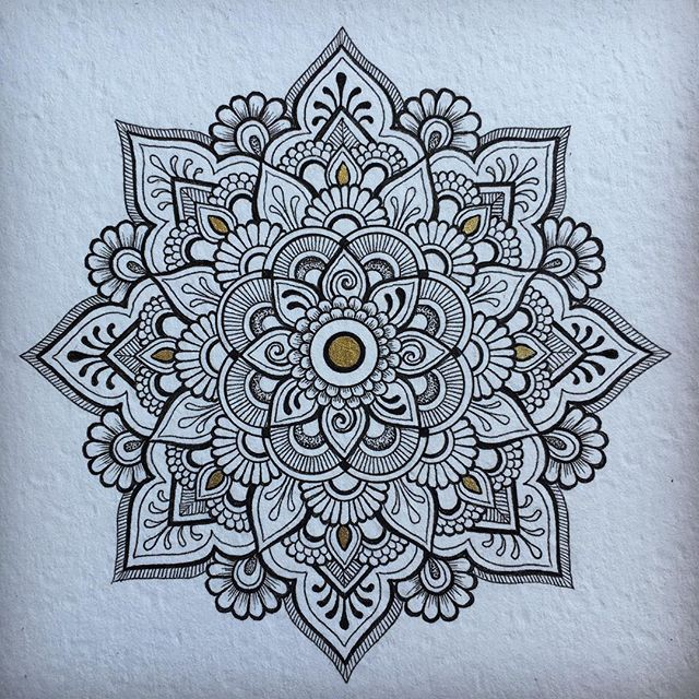 9 Mandala Tattoo Designs And Ideas: Instagram Post By IrukandjiDesigns (@anoushka_irukandji
