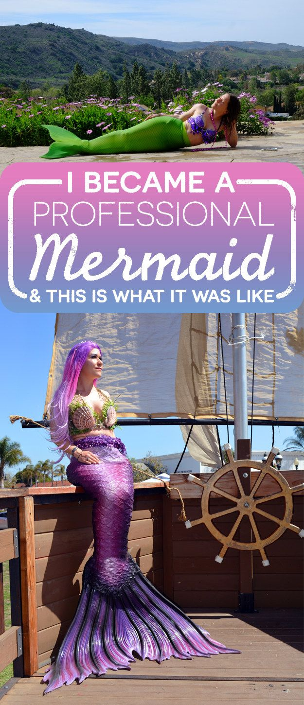 For those who don't know, mermaiding is a thing.