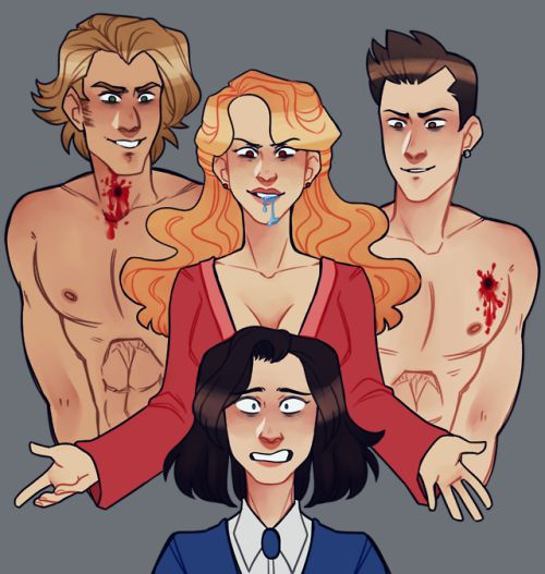 Veronica, Heather, Ram, and Kurt