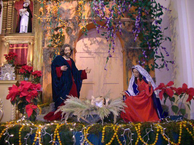 Decoracion navide a iglesias buscar con google navidad for Buscar adornos de navidad