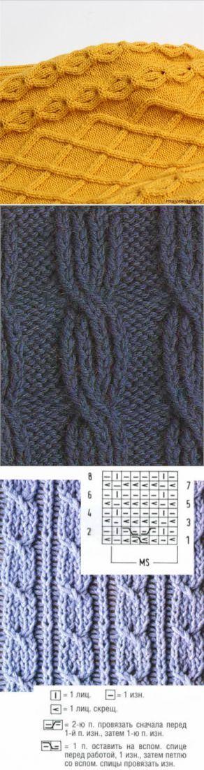 Детский свитер связанный спицами