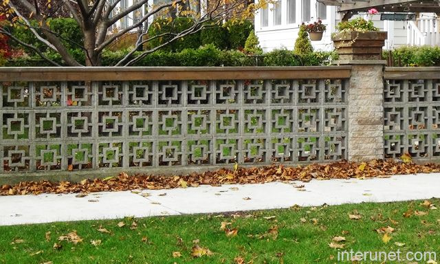 Decorative Brick Fence Fences Brick Column Decorative