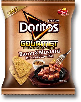 Snack Of The Gods? Frito-Lay Japan's Doritos Gourmet Bacon & Mustard Tortilla Chips ... InventorSpot