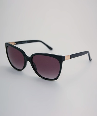 Take a look at this Black Gucci Sunglasses by Gucci on #zulily today!