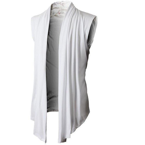 H2H Mens Casual Shawl Collar Cardigan Sleeveless Sweaters With No... ($26) ❤ liked on Polyvore featuring men's fashion, men's clothing, men's sweaters, mens sweaters, mens shawl collar cardigan sweater, mens shawl collar sweater and mens cardigan sweaters
