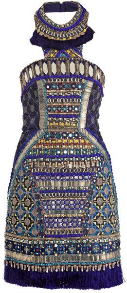 Bhangra Beaded Dress -Matthew Williamson