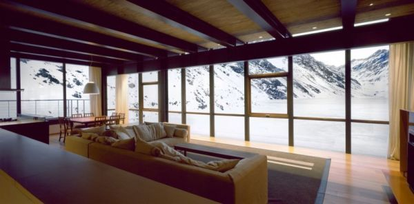 Chalet C7 – a remote destination hidden among the Andes