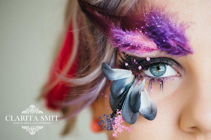 Make-up and LashArt done by Clarita Smit www.claritasmit.co.za
