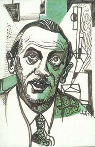 Fritz BRANDTNER, autoportrait, 1942