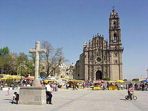 Templo de Santiago Apostol.- Tepotzotlán