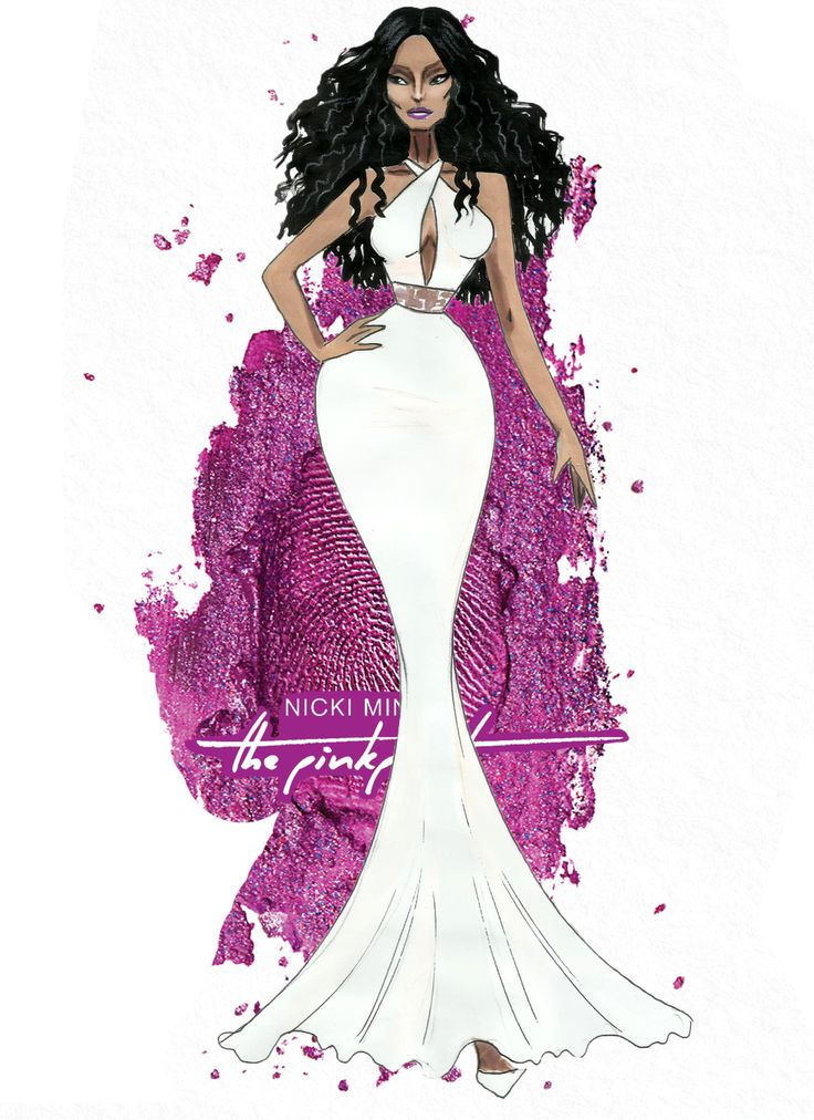 The Nicki Minaj Eras - The Pink Print - by Armand Mehidri