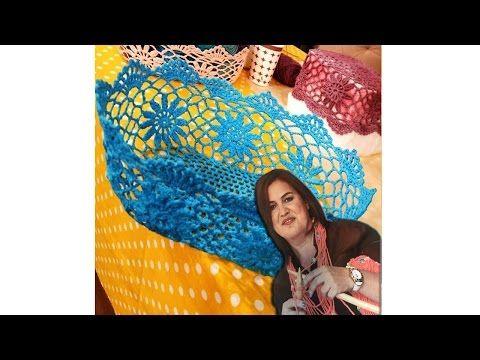 Tutkallı Dantel Sepet Yapımı / DIY - YouTube