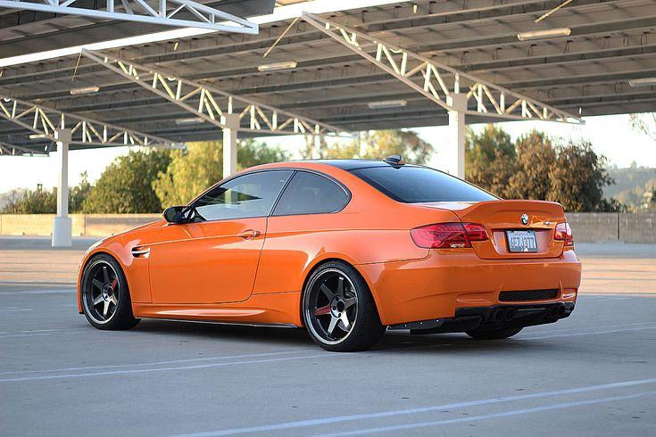 Wonderful Fire Orange   New Front Bumper U0026 Carbon Lip Setup