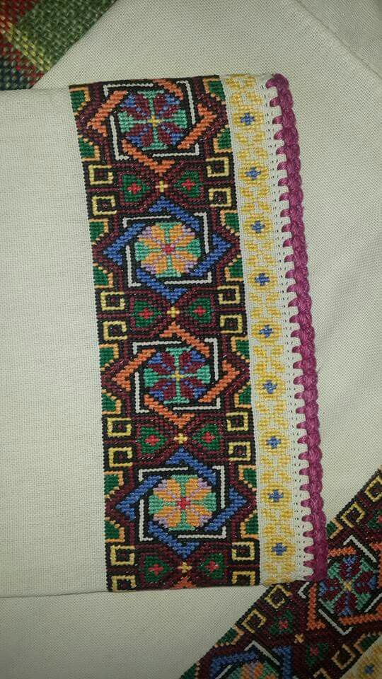 I love the pattern and color combination
