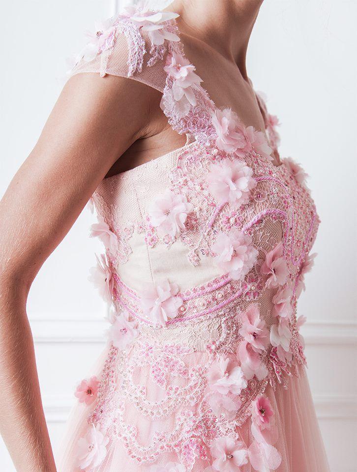 Exquisite details of Moretz Dress