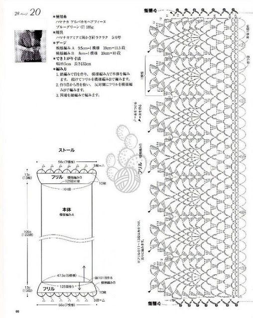 592 best ~ crochet patterns by diagram (symbols) ~ images