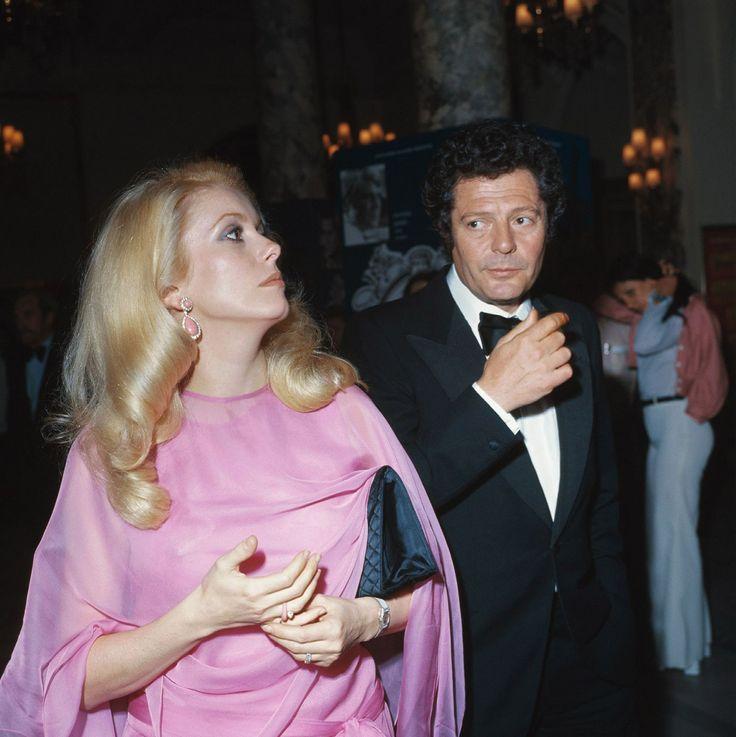Marcello Mastroianni and Catherine Deneuve, 1970s