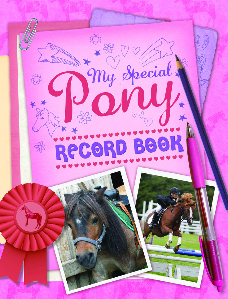 My Special #Pony Record #Book. The perfect #christmas #gift for all #pony lovers!  It is a fantastically colourful way in which children can keep details about their very own special pony.
