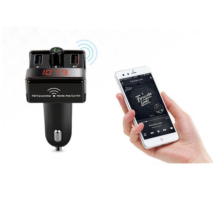 Car Bluetooth FM Transmitter Handsfree Car Kit FM Radio Car MP3 Player TF U Disk