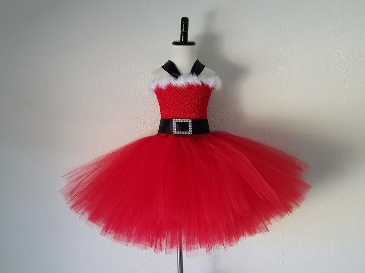 how to make christmas tutu dress
