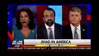 <h5>Robert Spencer on Hannity on the Orlando jihad massacre</h5><p>On June 13, 2016, Jihad Watch director Robert Spencer appeared on Fox News' Sean Hannity Show to discuss the jihad massacre at the Pulse nightclub in Orlando, Florida.</p>