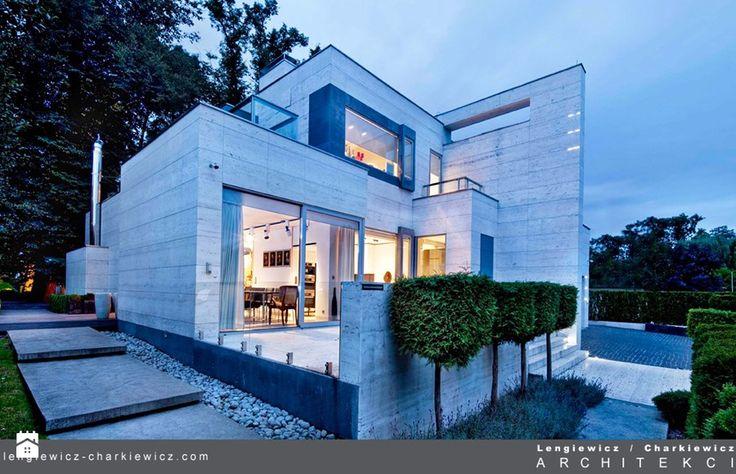 dom znanej projektantki mody Domy - zdjęcie od Lengiewicz-Charkiewicz Architekci