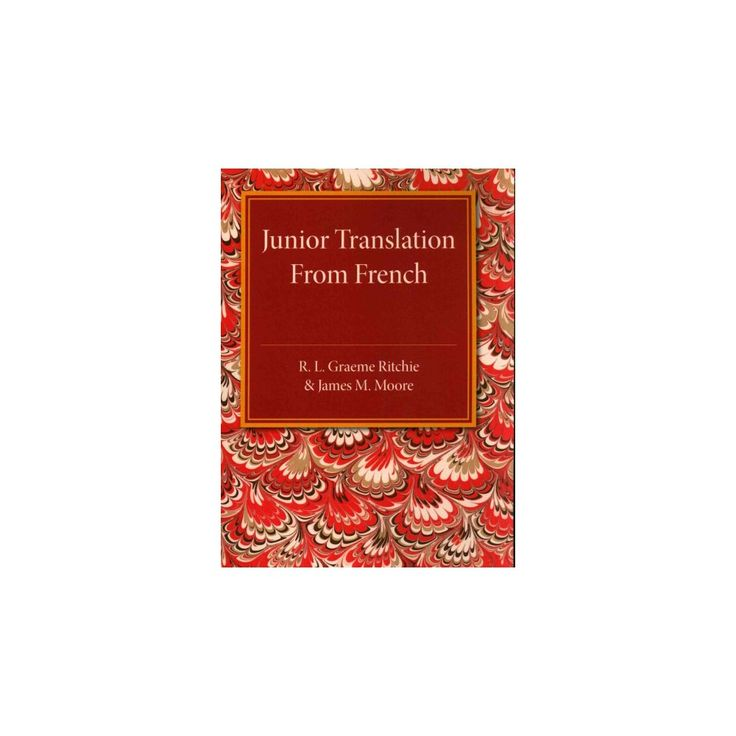 Junior Translation from French (Paperback) (R. L. Graeme Ritchie)