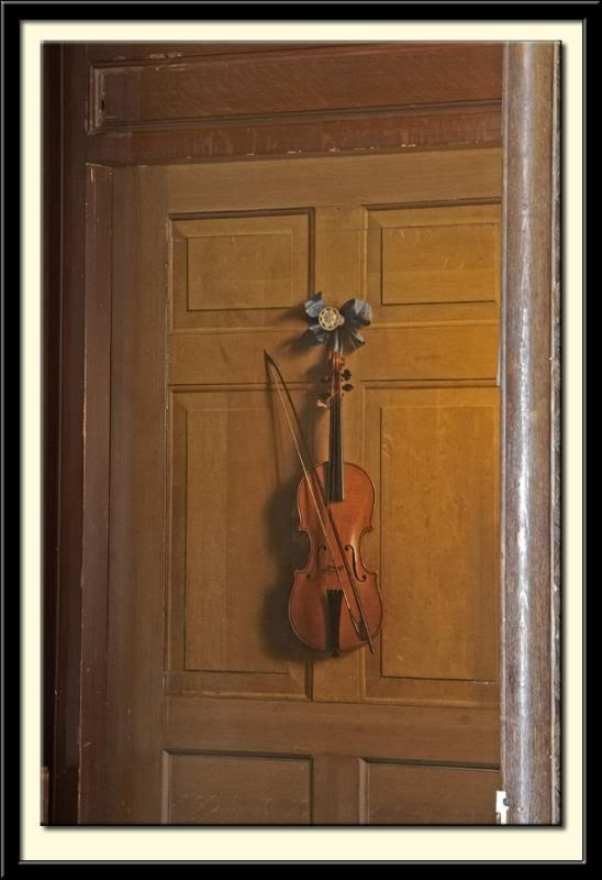 Idea For Displaying Our Decorative Violin Violin