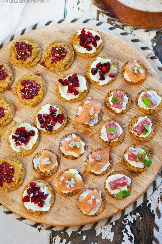 4 Recipes | 4 Party Bites | FamilyFreshCooking.com
