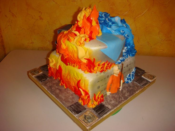 """13 """"Avatar: The Last Airbender"""" & """"The Legend Of Korra"""" Cakes That You Need…"""