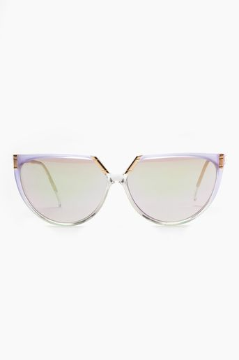 Vintage Helena Rubinstein Jacques Sunglasses in Lilac