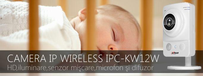 Camera IP #Wireless #Wifi #DAHUA #IPC-KW12W