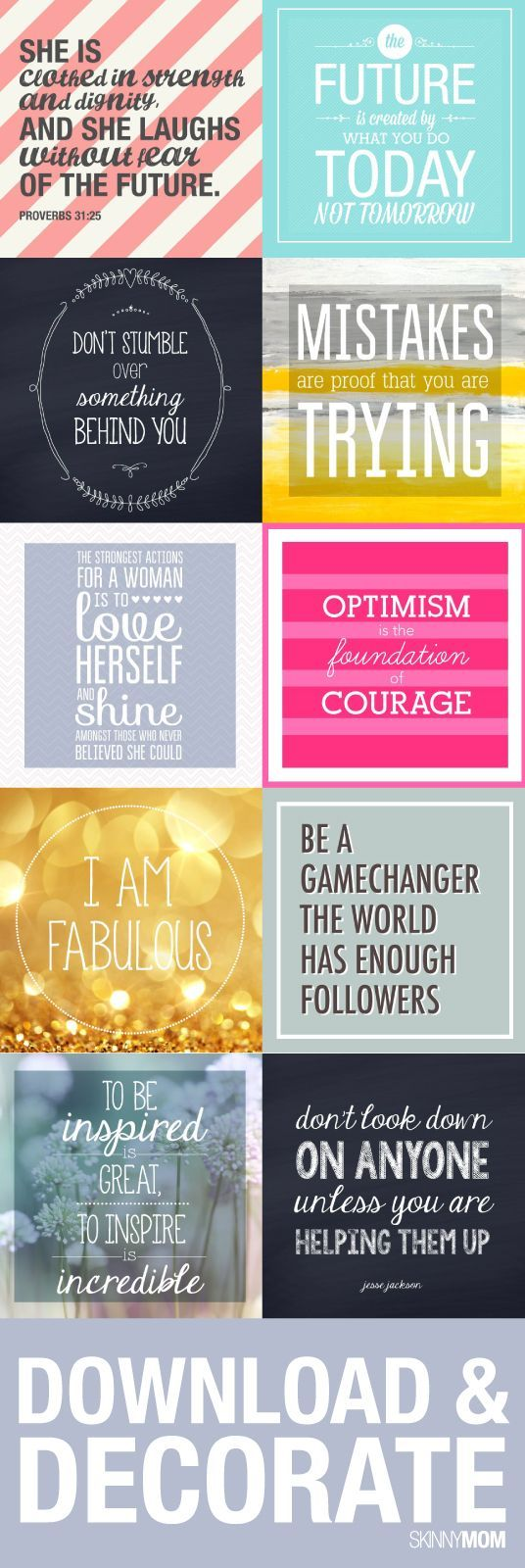 You can download all of these from our site! .... Some good for classroom maybe