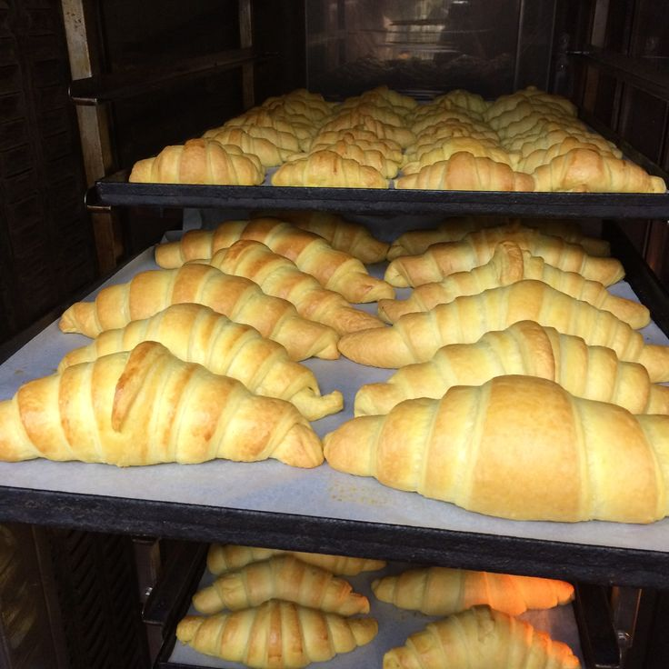 Yummy! We simply cannot resist the familiar smell of freshly baked croissants from our pastry chef's morning preparations... Good morning everyone!!  #DivineTastes #foodies #HappeningNow