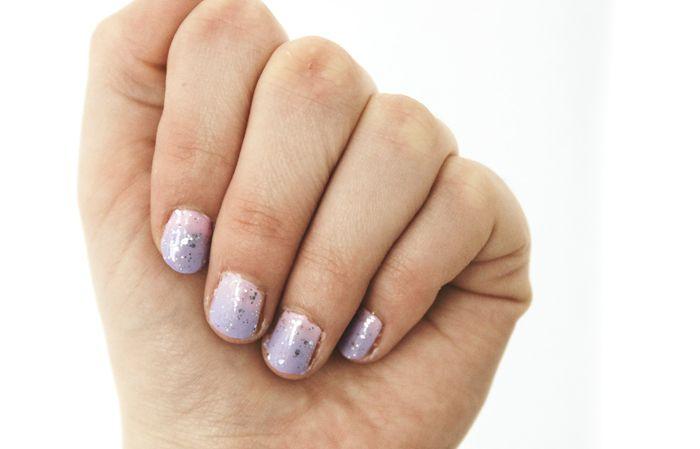 Easter Nail Art | Denise Joanne | Pastel, pink, purple, lilac, glitter, glitters, silver,