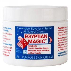 Le Baume Egyptian Magic est un soin tout en un, à emporter partout avec soi ! Ce produit 100% naturel répond aux besoins de toute la famille ! Un soin visage, un démaquillant, un soin pour le corps, un baume de massage, un soin pour les cheveux, pour les ongles, un baume à lèvres, un  traitement contre l'acné ou encore l'eczéma, mais aussi un traitement pour les premiers soins tels que les brûlures, égratignures, piqûres d'insectes…les utilisations sont infinies !