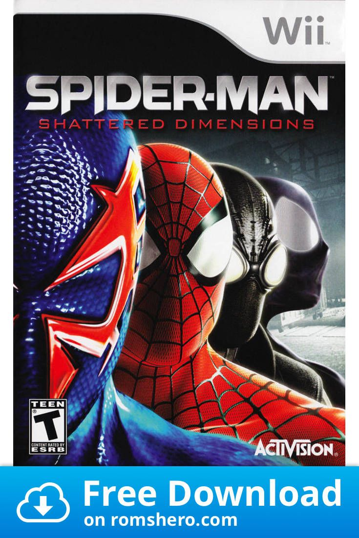 Download spiderman shattered dimensions nintendo wii