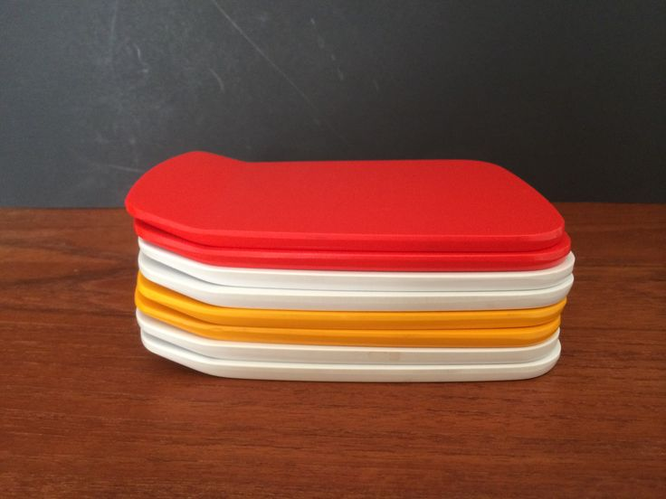 Appetizer - Sandwich Plates Set of 8 Rosti Denmark design by Bjorn Christensen