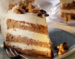 #tort czekoladowo-orzechowy