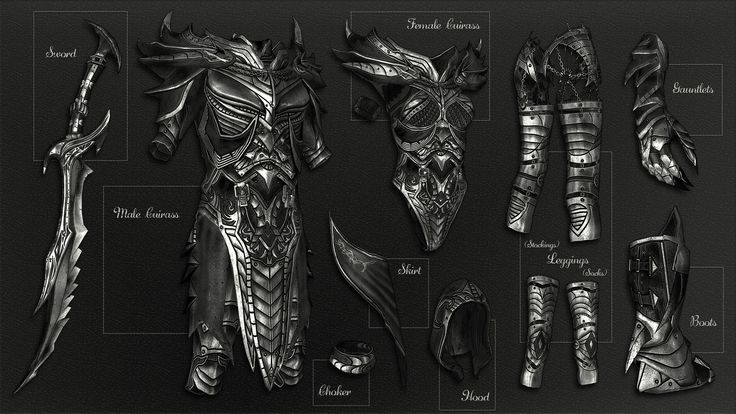 Daedric Reaper Armor at Skyrim Nexus - mods and community