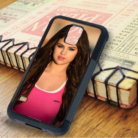 Pink Adidas Selena Gomez Samsung Galaxy S5 Case