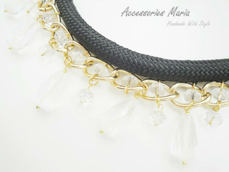 Accessories Maria  Handmade With Style # necklace # accessories # jewelry # unique # handmade # gold