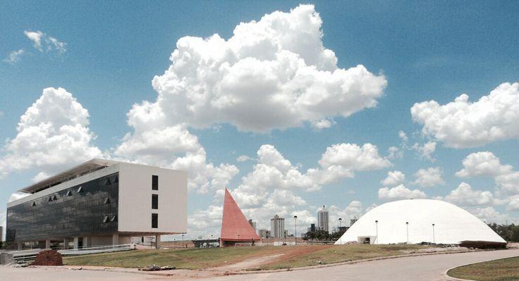 Centro Cultural Oscar Niemeyer - Goiânia Goiás - Foto: Arquiteta Cláudia F. Ferreira