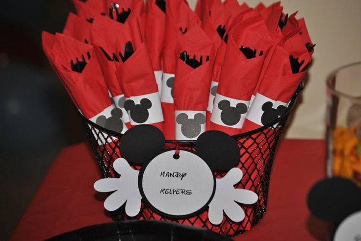 Handy Helpers Mickey Mouse Party Pinterest
