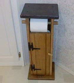 Making A Toilet Paper Holder Having easily accessible rolls of toilet tissue in the bathroom can be a decorating challenge but there are lots of ways to display them either discreetly or humorously. This is a guide about making a toilet paper holder.
