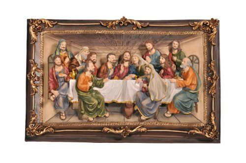 16 Long Last Supper Wall Hanging Decor Polyresin By Abc